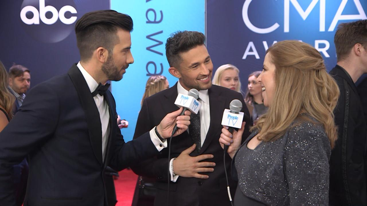 Michael Ray and Carly Pearce Make Their Love Red Carpet Official: 'It's That Seal of Approval'