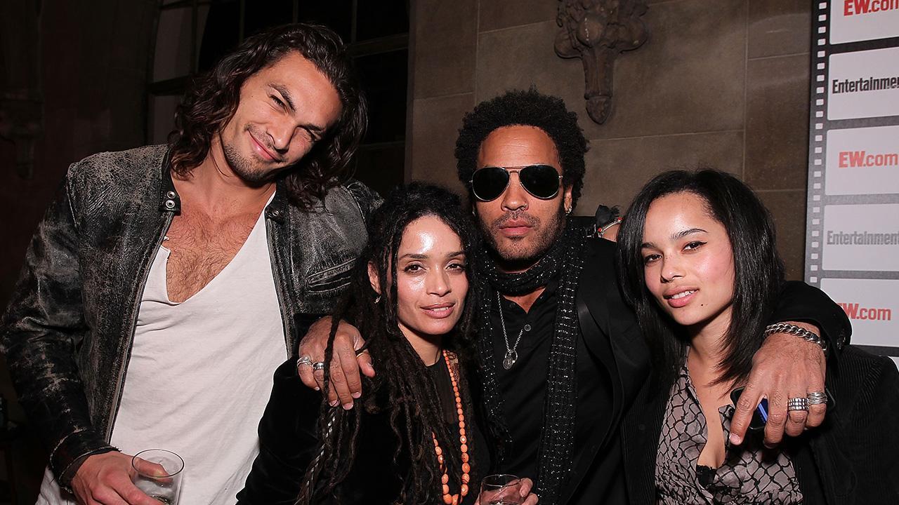 Blended Family! Jason Momoa and Wife Lisa Bonet's Ex-Husband Lenny Kravitz Have Matching Rings