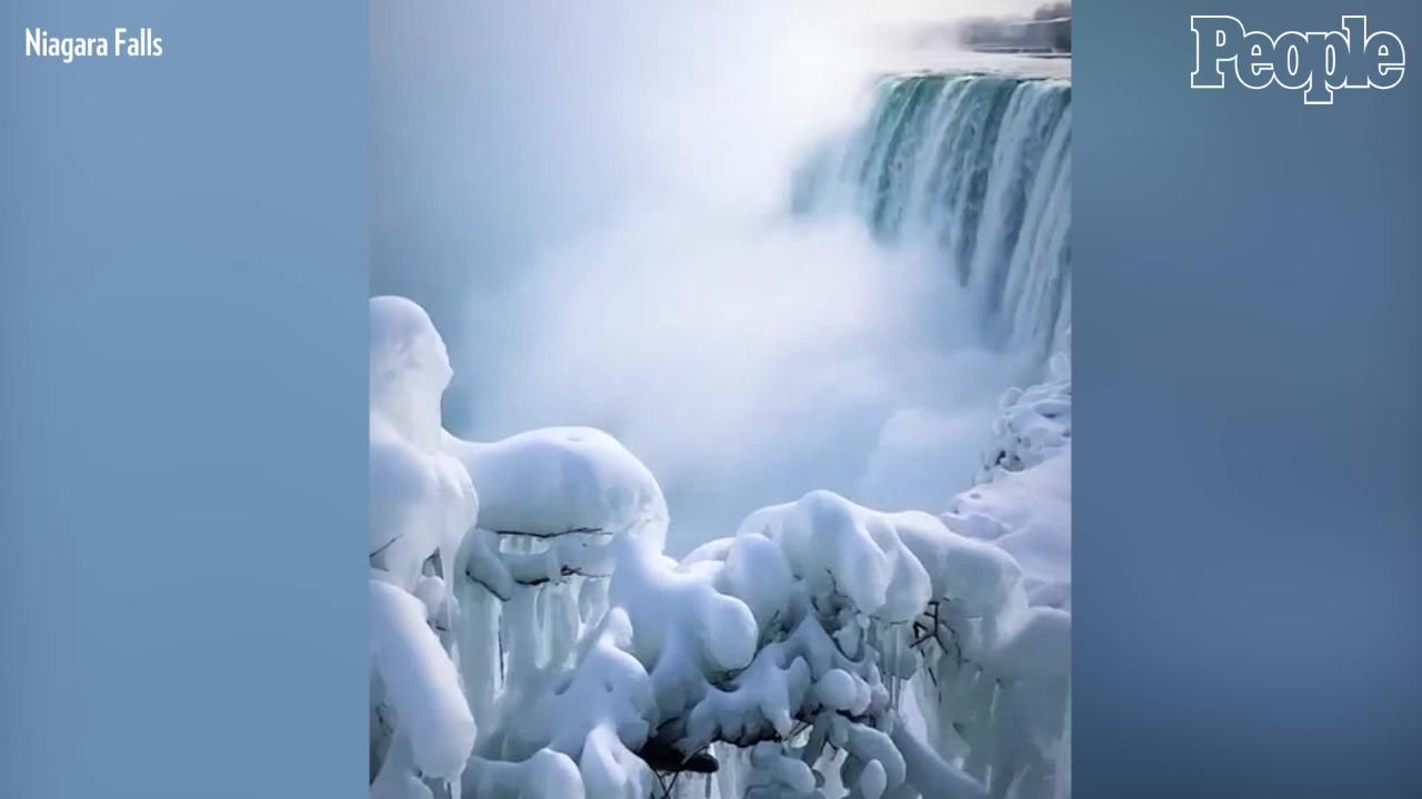 Man Survives Survives with Non-Life Threatening Injuries After Being Swept Over Niagara Falls