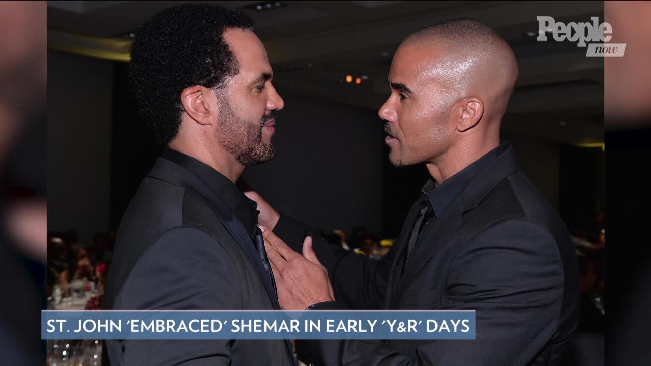Shemar Moore Reveals 'Running Joke' He Had with Young and the Restless Costar Kristoff St. John