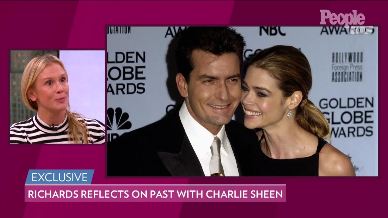 Denise Richards Worries Fighting with Charlie Sheen During Their Divorce Affected Their Children