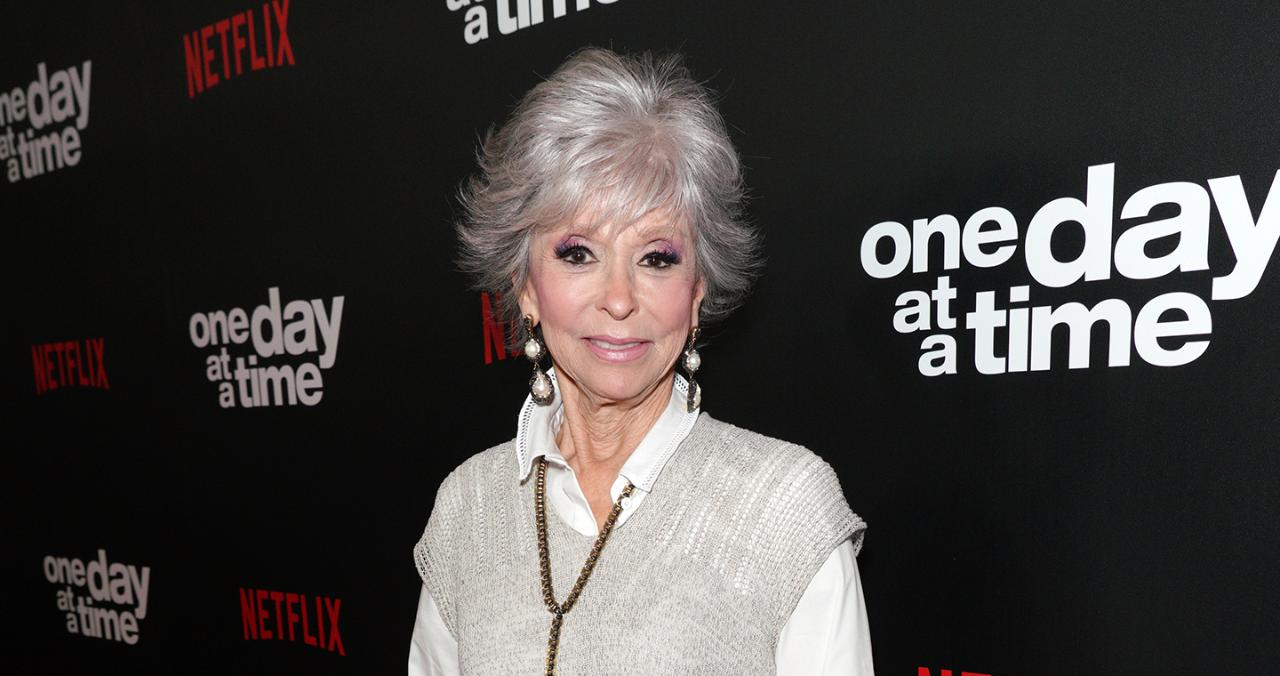 Rita Moreno Becomes First Latin Recipient of the Peabody Career Award with Moving Speech