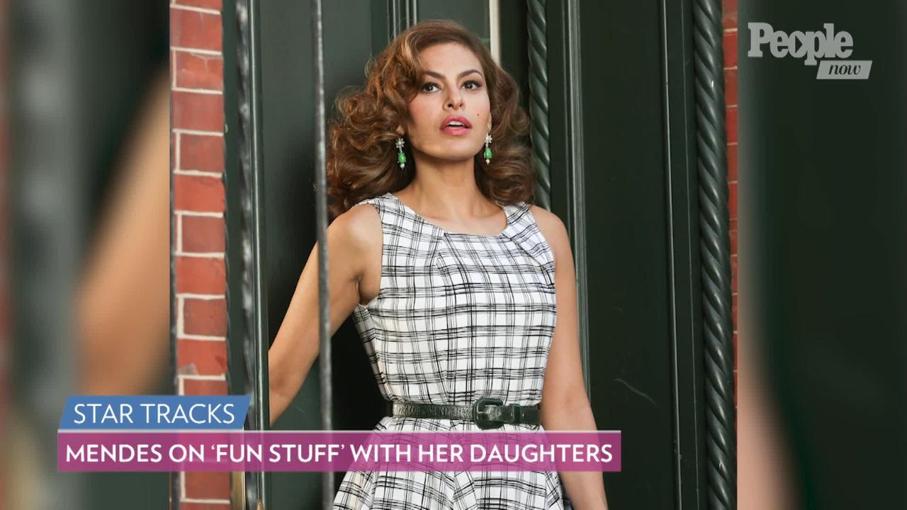 Eva Mendes Says Teaching Her Children Spanish Is 'Harder Than I Thought'