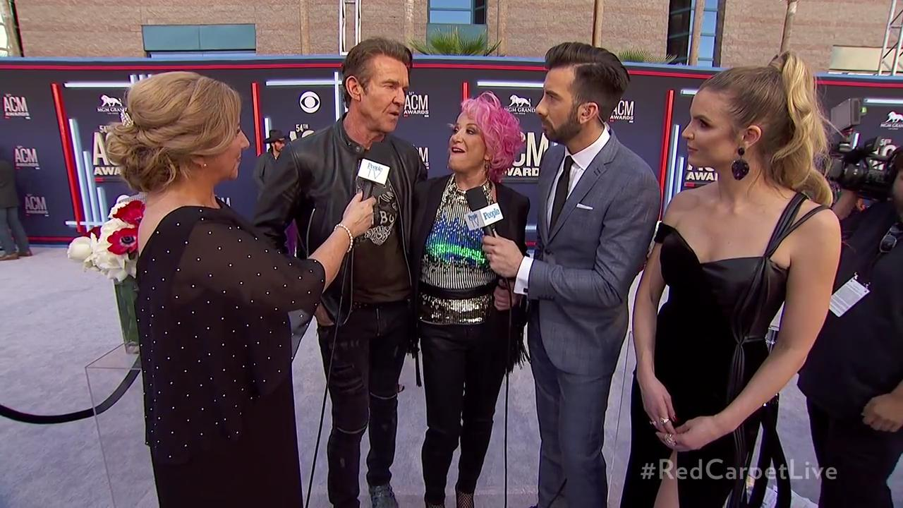 Tanya Tucker and Dennis Quaid Are Making the Country Circuit Rounds — but Aren't Dating: Sources