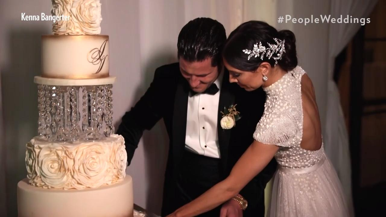 Jenna Johnson and Val Chmerkovskiy's Wedding: All the Details on the Cake and Food