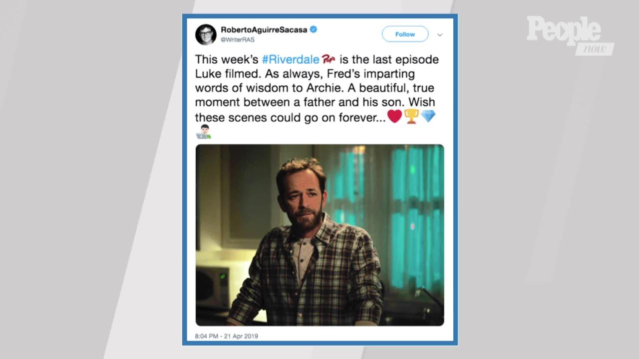 Riverdale's Season 4 Premiere Will Honor Luke Perry: 'A Tribute to Our Fallen Friend'