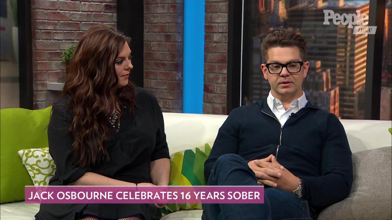 Jack Osbourne Says the Past Year Has Been the 'Toughest' as He Celebrates 16 Years of Sobriety