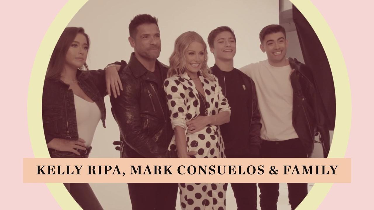 Kelly Ripa Will Use a Photo from Her PEOPLE Beautiful Issue Shoot for Her Family Christmas Card
