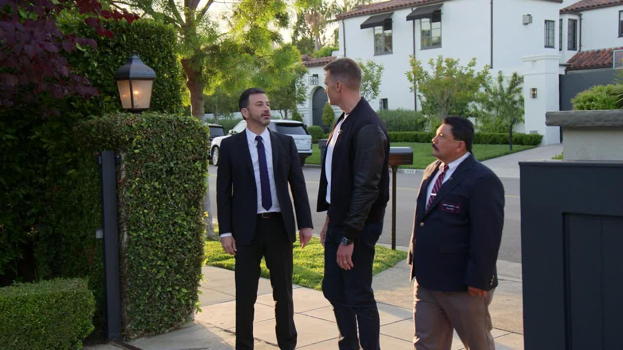 Jimmy Kimmel Jokes Matt Damon Is Banned from His Comedy Club: 'Police Are on Alert'