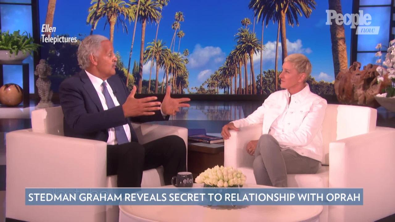 Stedman Graham Says He's 'Dedicated' to Partner Oprah Winfrey's 'Happiness'