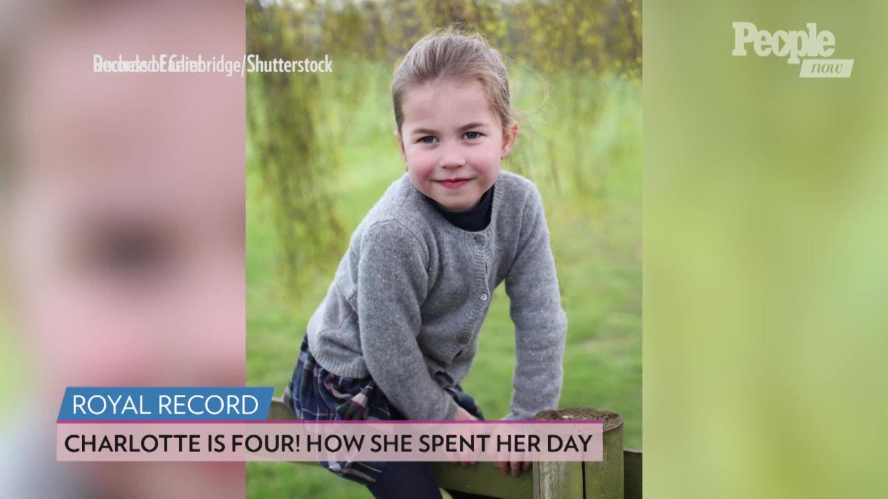 Watch Princess Charlotte Boss Prince George Around Mom Kate Middleton's Garden: 'Quicker George!'