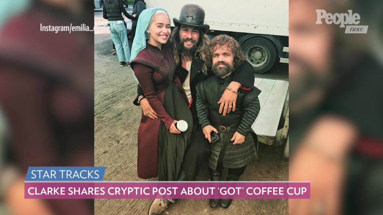 Emilia Clarke Says Game of Thrones 'Shaped Me as a Woman' in Emotional Tribute Before Series Finale