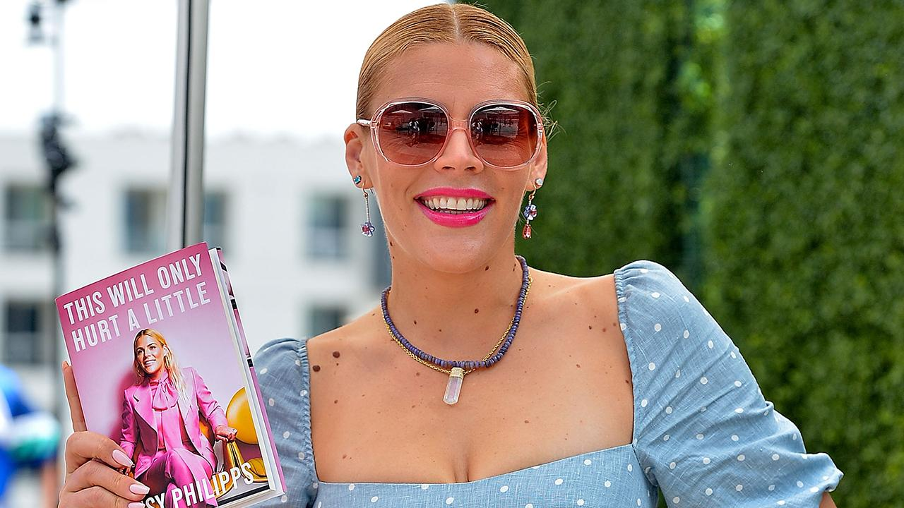 Busy Philipps Jumped in the Pool Wearing a $1,600 Dress at Her 40th Birthday Party in Mexico