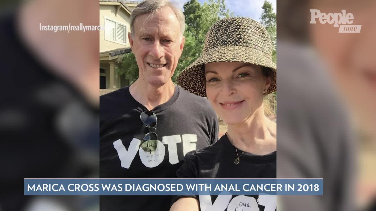 Marcia Cross Learned Her Anal Cancer Likely Caused by Same HPV Strain as Husband's Throat Cancer