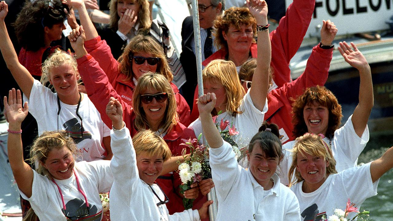 The First All-Female Crew in the Whitbread Round the World Race 'Never Doubted' They Could Do It