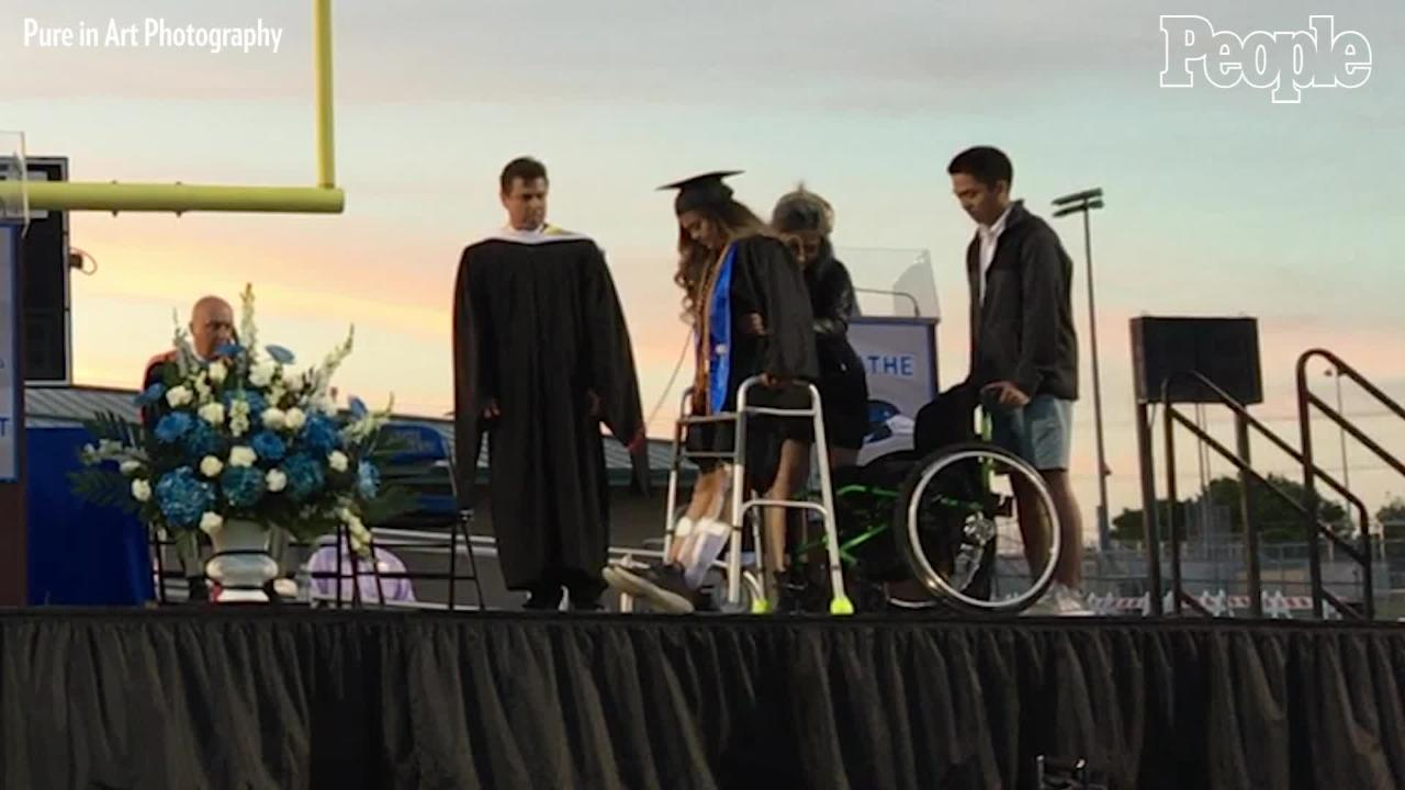 Nonverbal Student Gives Inspiring Graduation Speech Using Voice Software