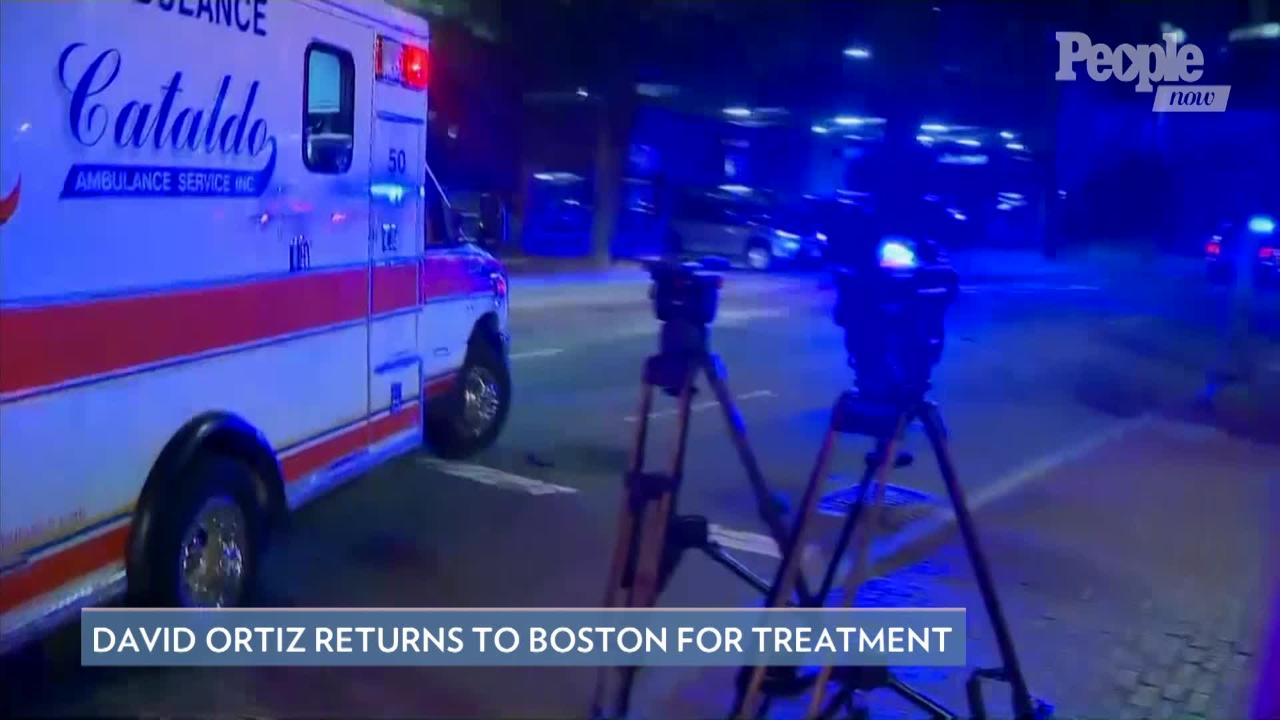 David Ortiz Has Been Moved Out of Intensive Care and Remains in 'Good Condition' After Shooting