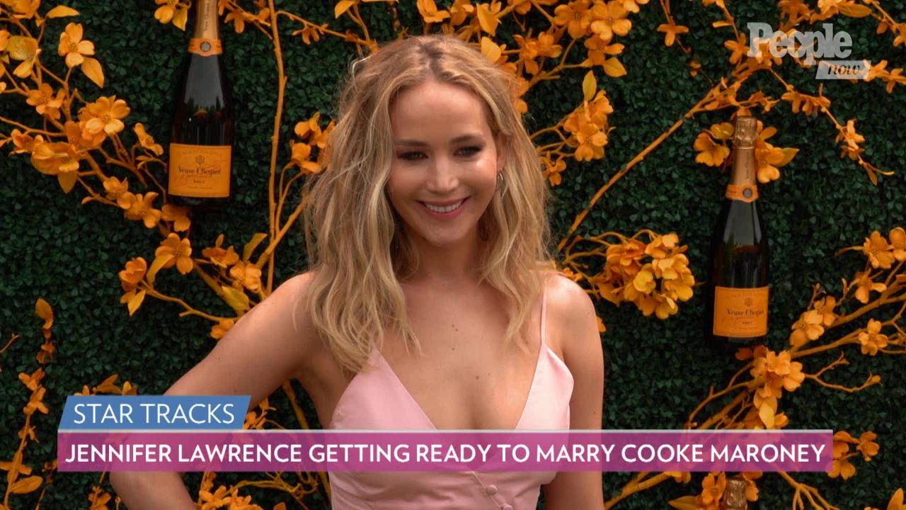 Jennifer Lawrence and Fiancé Cooke Maroney 'See the World in a Similar Fashion'