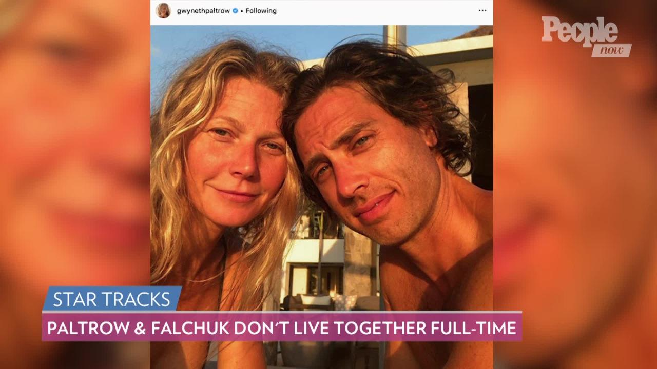 Gwyneth Paltrow and Brad Falchuk Vacation in Italy After Admitting They Don't Live Together