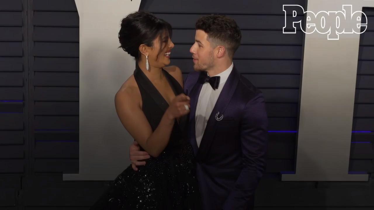 Priyanka Chopra Jonas Celebrates 37th Birthday with Husband Nick Jonas — and a Five-Tier Cake!