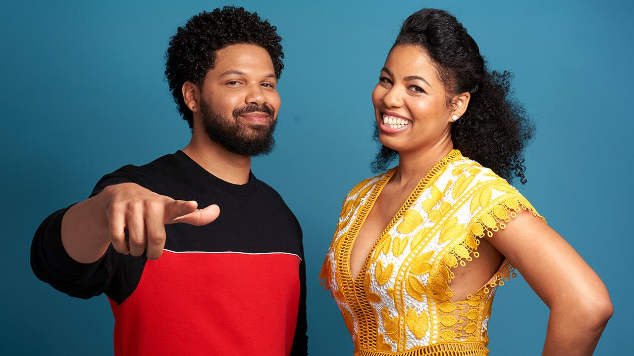 Siblings Jake & Jazz Smollett Love Working Together on Living by Design Even When They Fight!