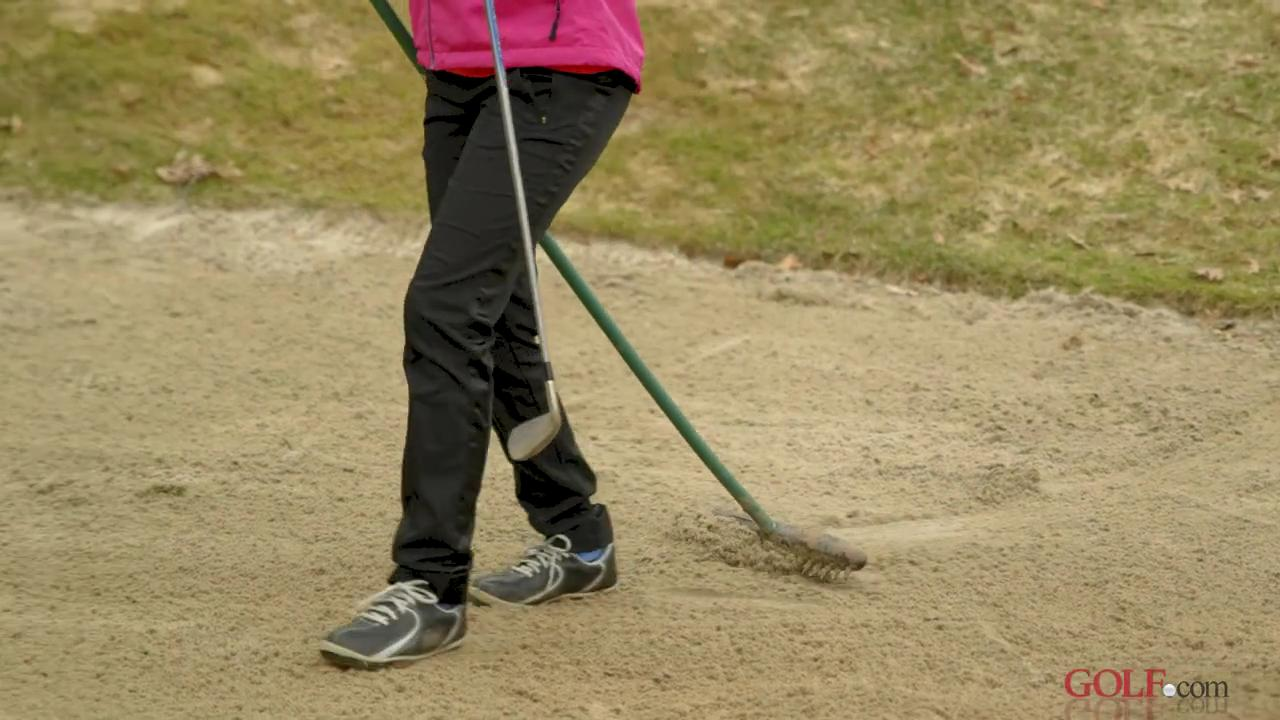 The Etiquetteist: Where exactly should I place a bunker rake?