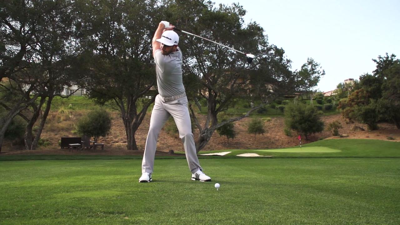 Steal Dustin Johnson's Power Move and Add 10 Yards Off The Tee