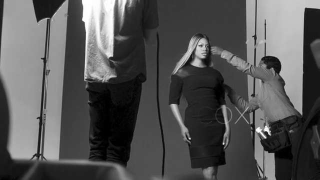 Behind the Scenes With Laverne Cox