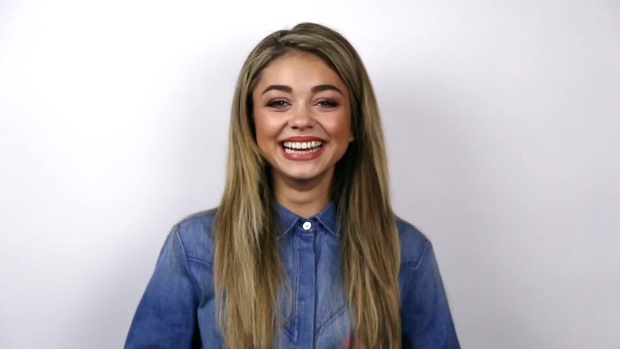 Watch 46 Seconds of Fun with Sarah Hyland