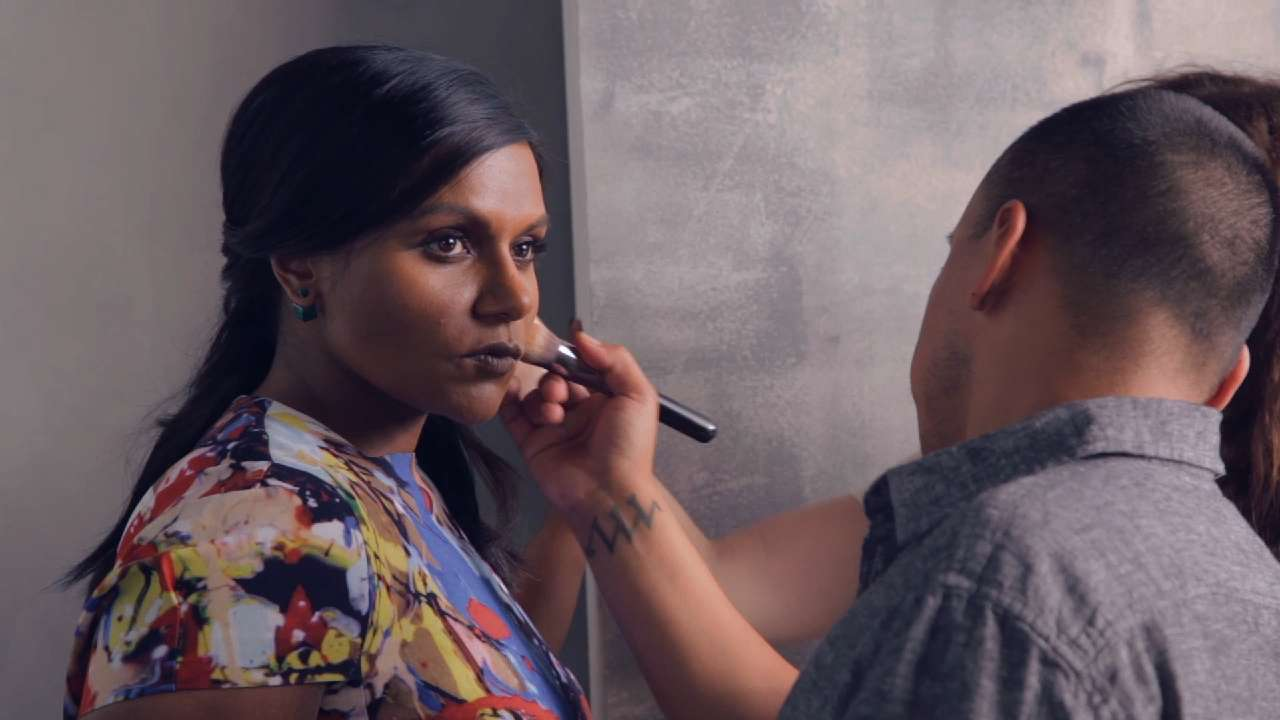 Mindy Kaling Brings Humor (of Course) to Her InStyle Photo Shoot