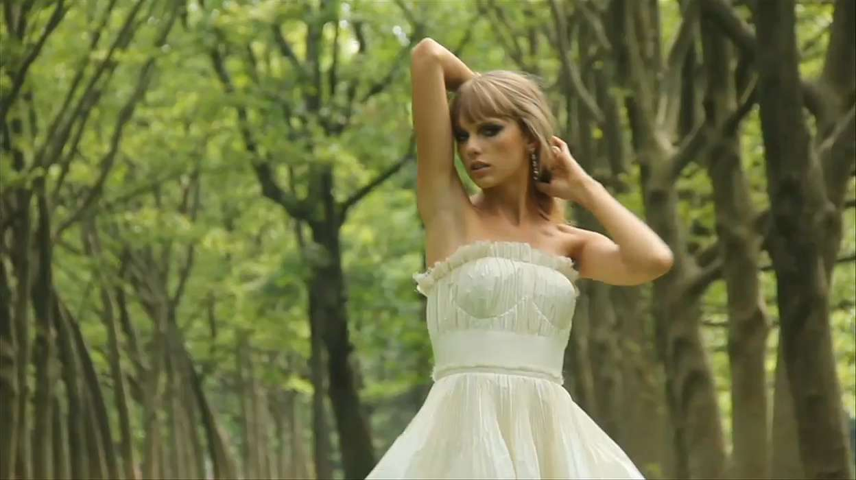 At the Cover Shoot With Taylor Swift
