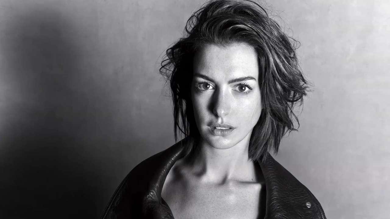 Anne Hathaway on Her Hair Evolution