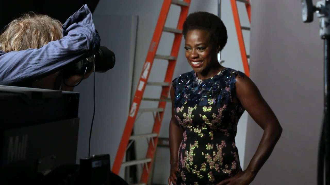 Go Behind The Scenes At Viola Davis's Cover Shoot