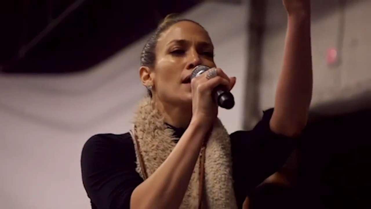 See Jennifer Lopez Rehearsing For Her New Vegas Show