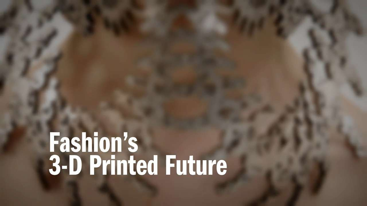 Is the Future of Fashion 3-D Printing?