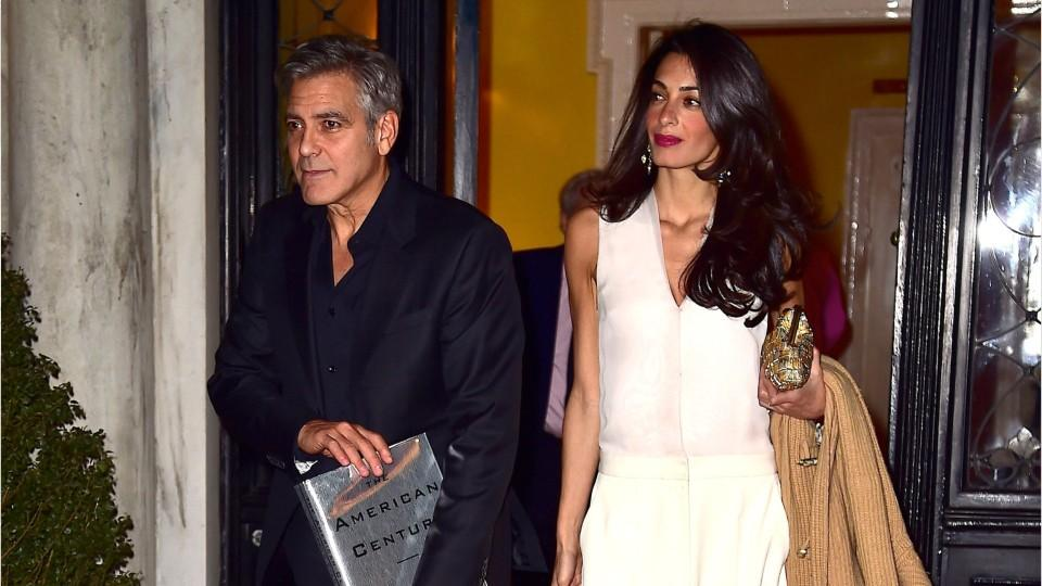 George Clooney Explains How He First Met His Wife Amal