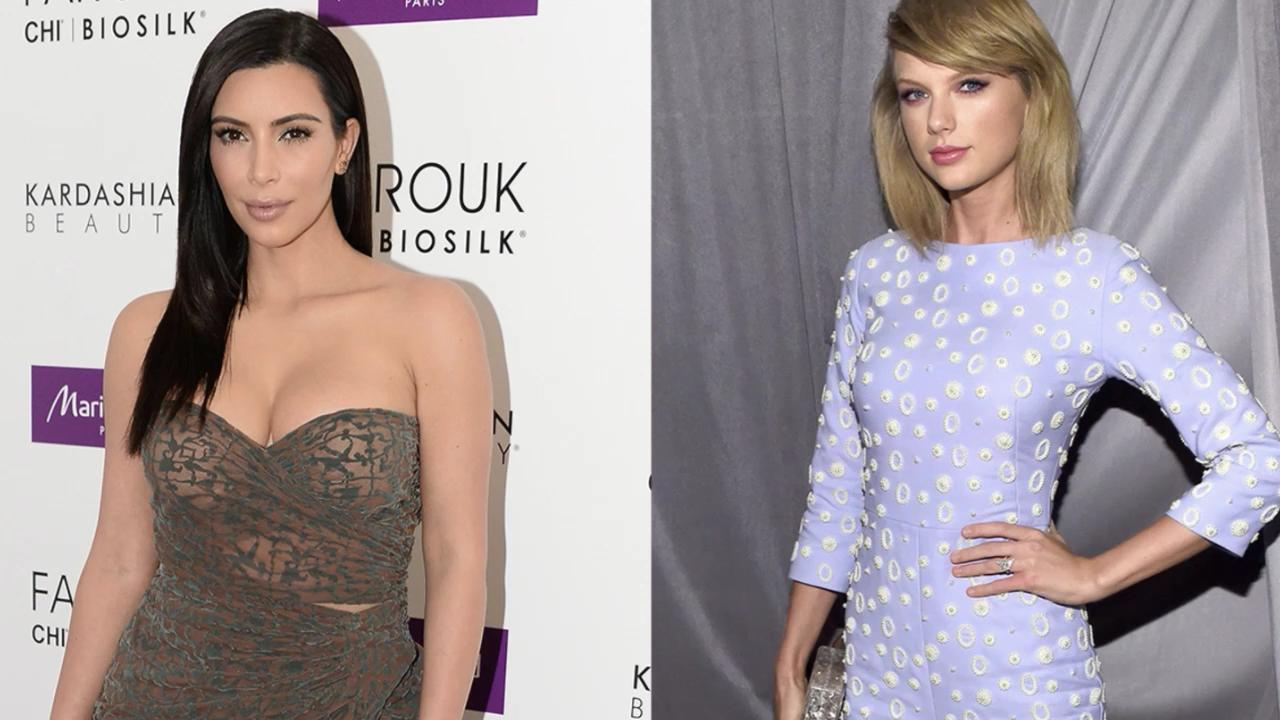 Proof Kim Kardashian Is Over Her Feud with Taylor Swift