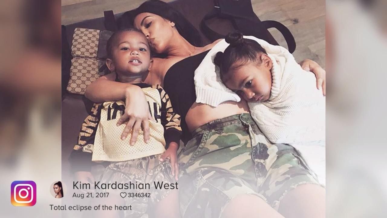 Kim & Kanye's Son Saint West Hospitalized with Pneumonia