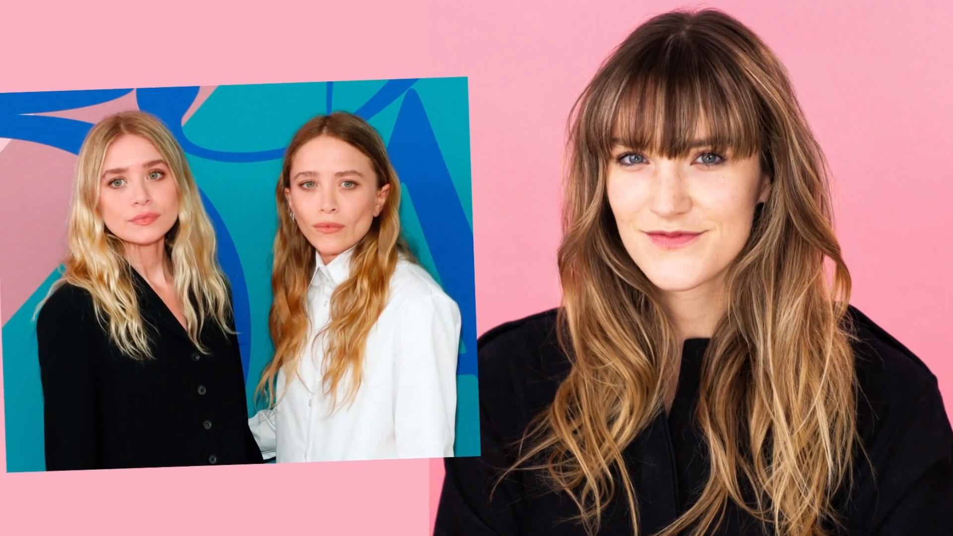 How to Get Messy Waves Just Like Mary Kate and Ashley Olsen