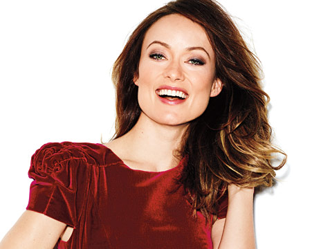 At the Cover Shoot With Olivia Wilde