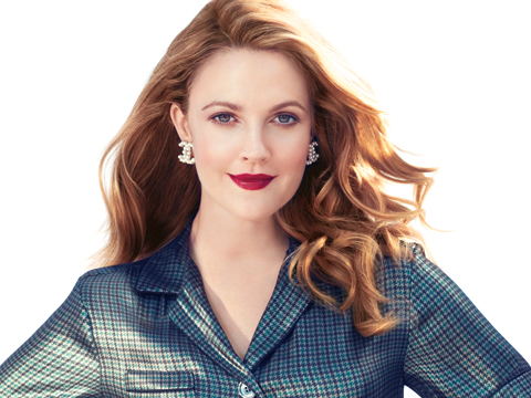 Drew Barrymore's InStyle Cover Archive