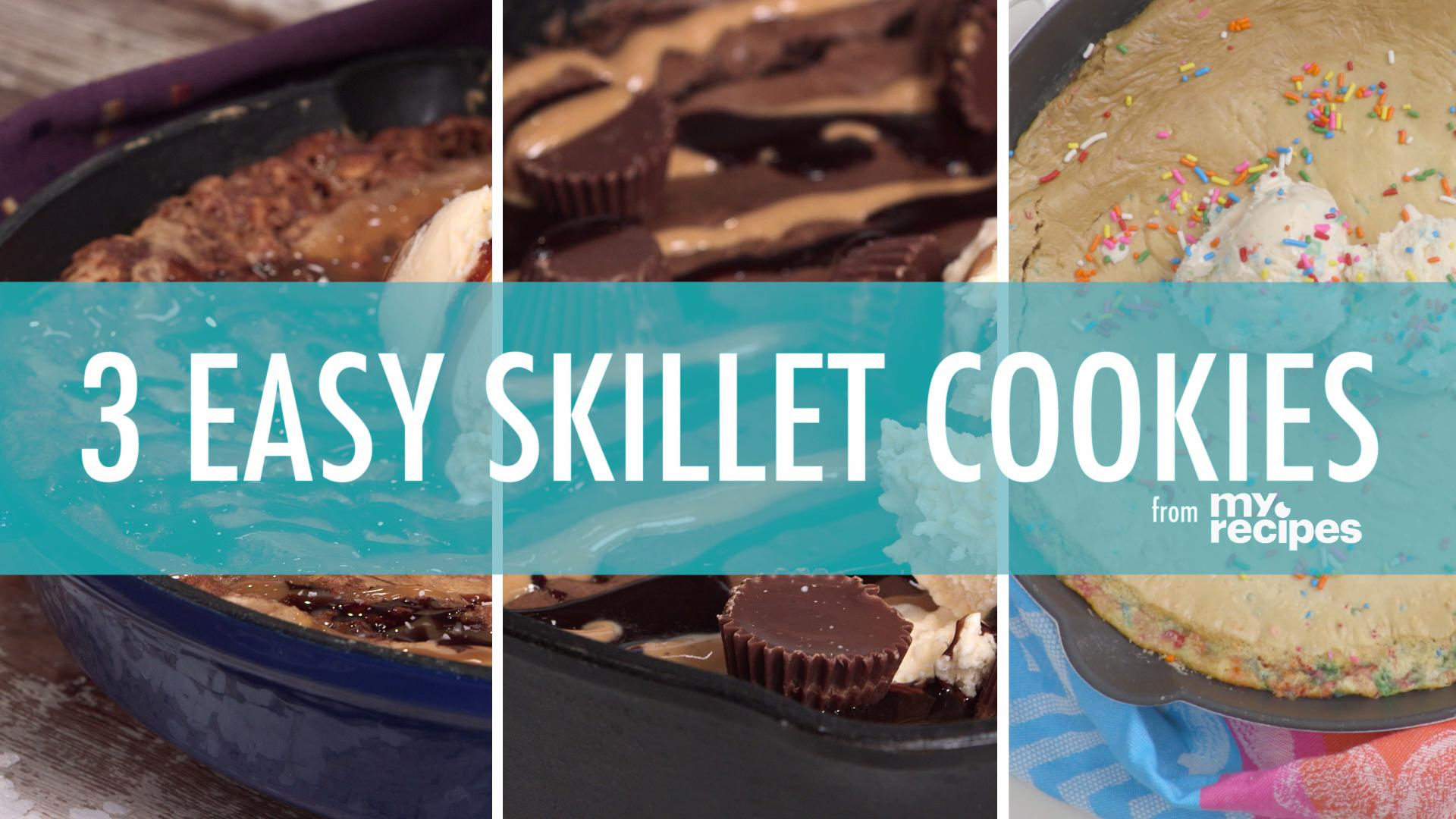 3 Simple Recipes for Skillet Cookies