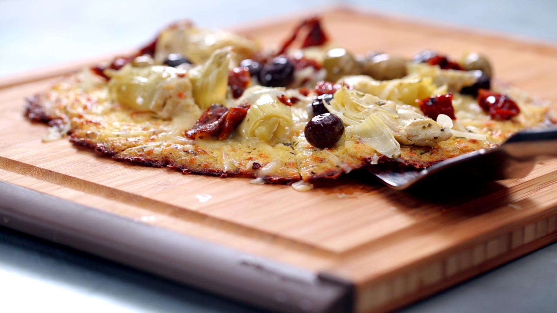 Watch How to Make Cauliflower Pizza Crust