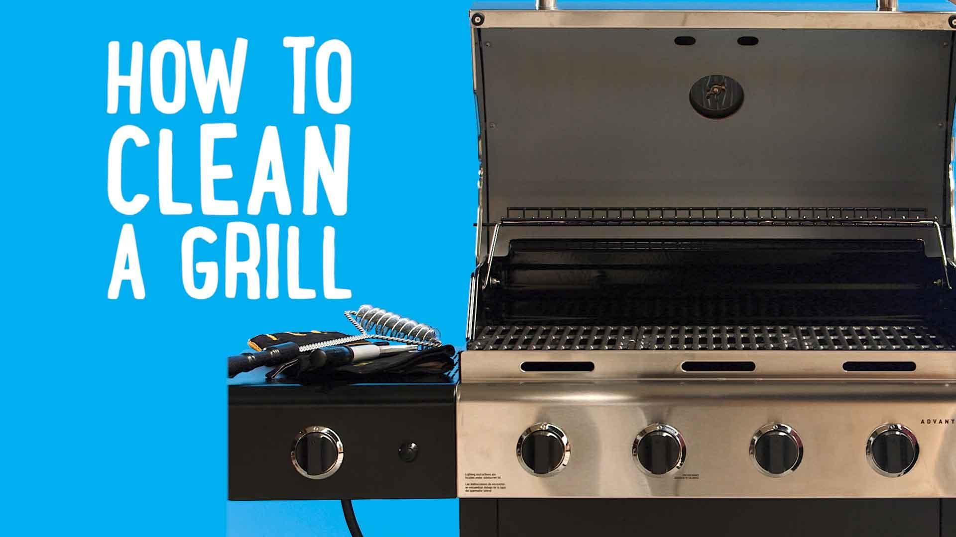 How To Clean Your Grill With Aluminum Foil