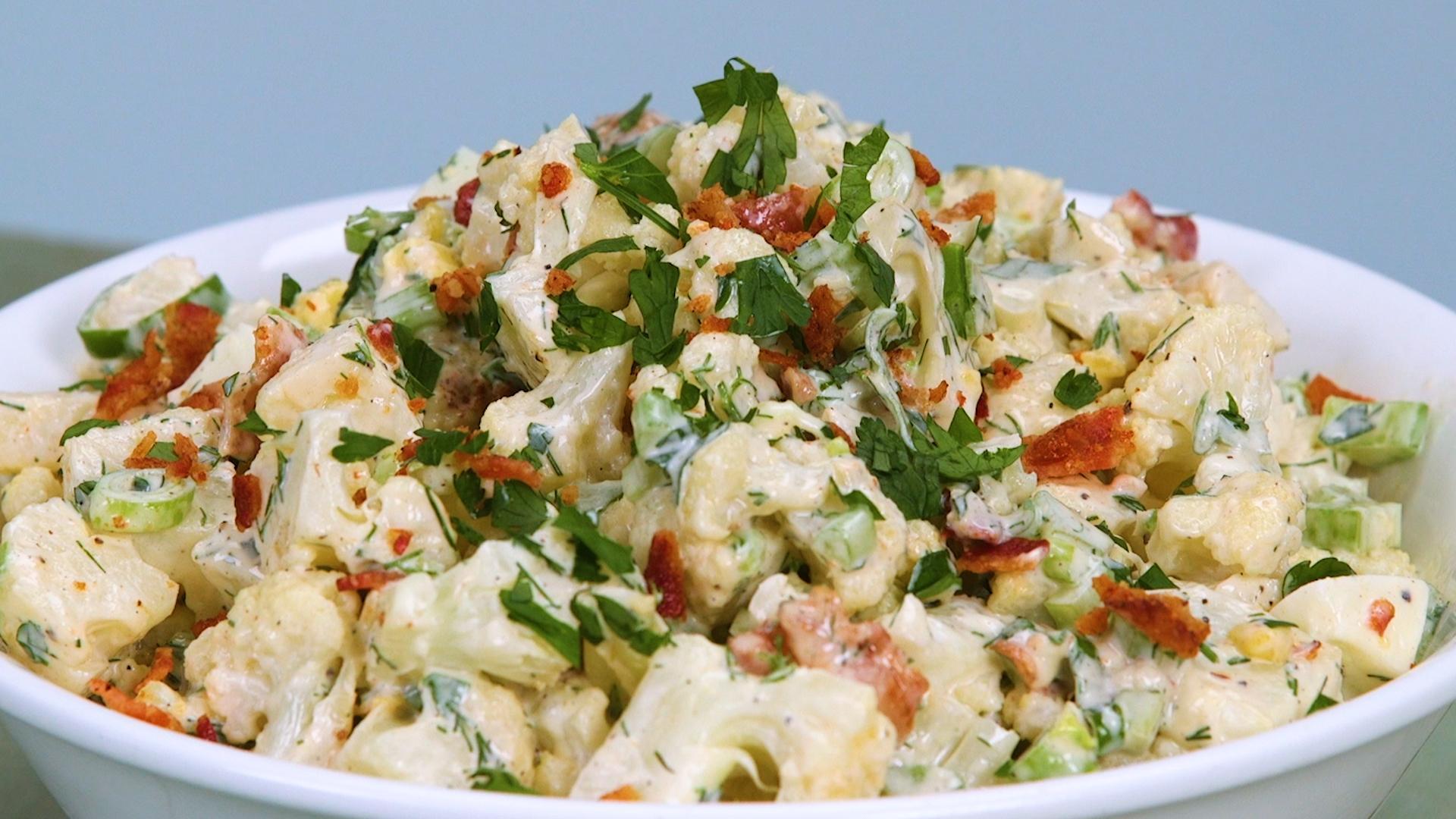 Cauli-Tater Salad