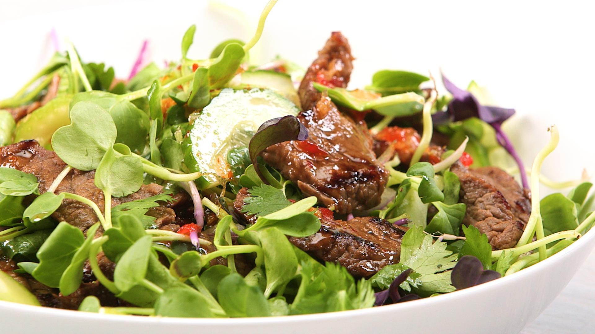 How to Make Thai Beef Salad