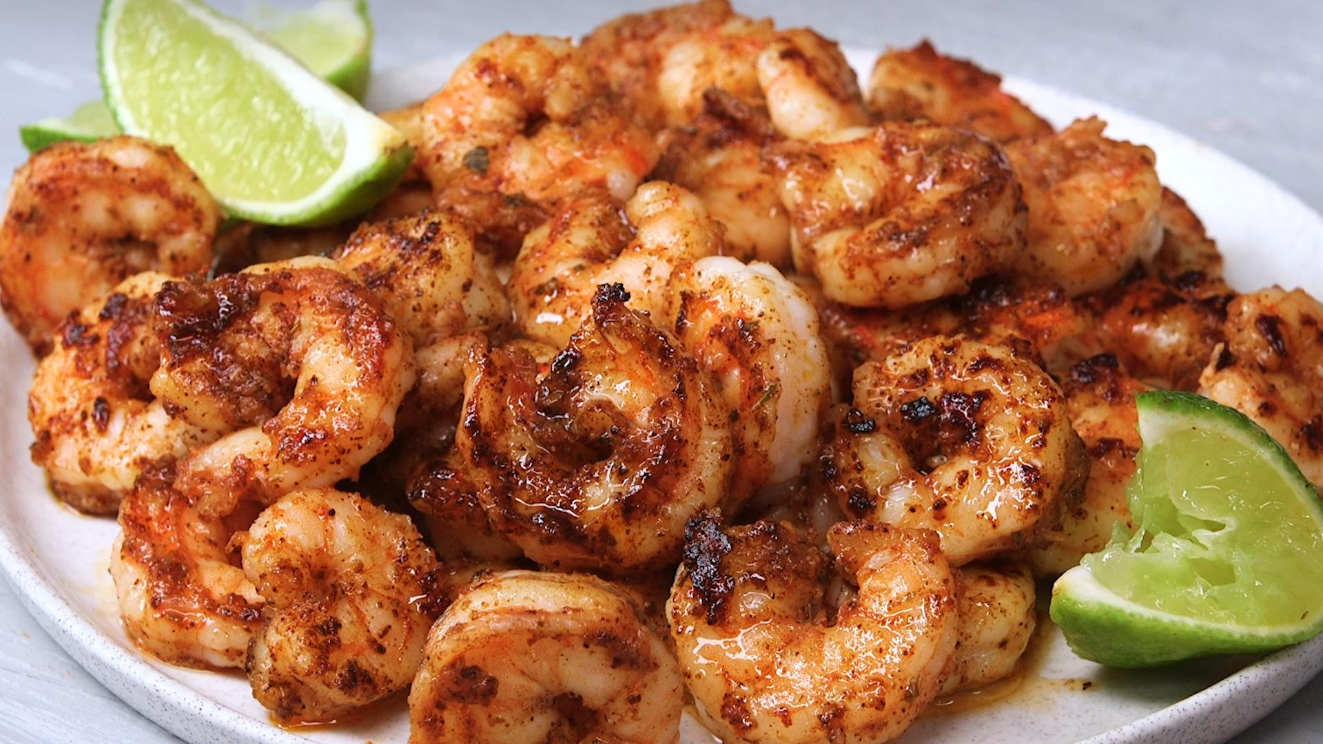 Spiced Shrimp with Avocado Oil Recipe