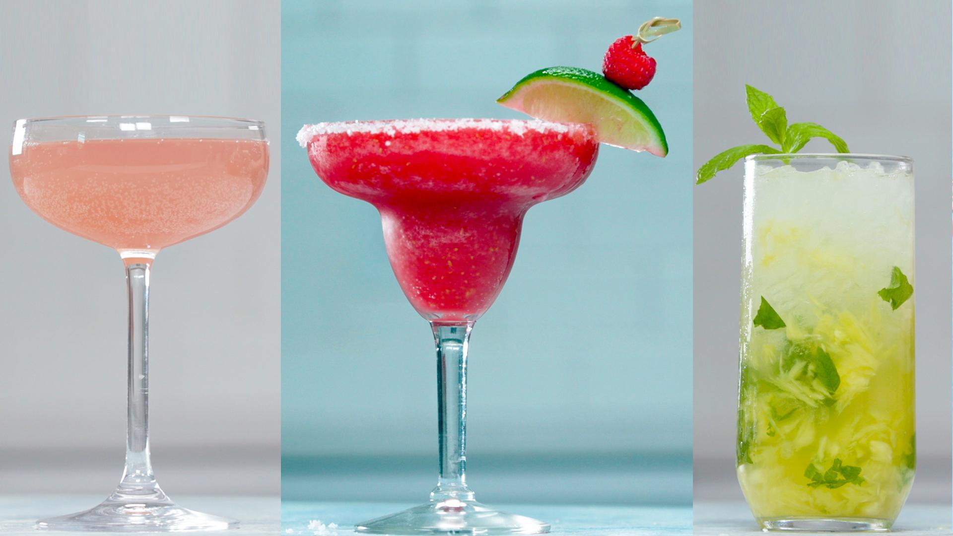 Frosty Raspberry-Lime Margarita