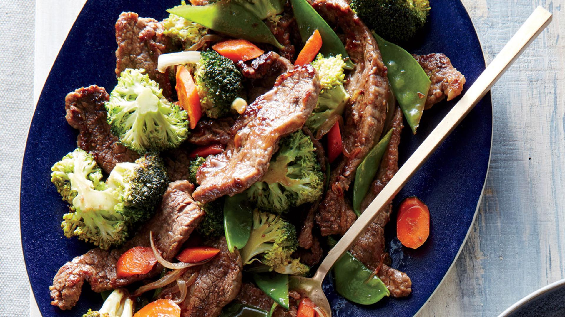 How to Make Mongolian Beef and Veggies