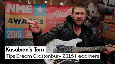 Kasabian's Tom Meighan Hopes For Oasis, Led Zeppelin At Glastonbury 2015